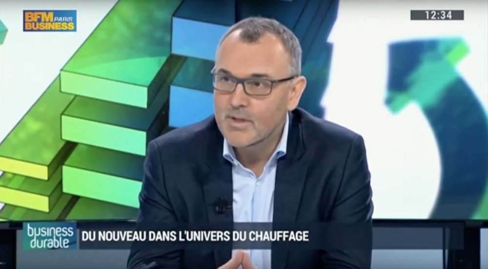 boostHEAT : Luc Jacquet invité de l'émission Business Durable sur BFM Business